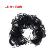 Messy Curly Hiuspulla # 1B - Jet Black