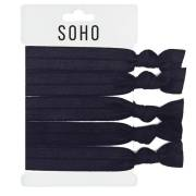 SOHO® Hair Ties Hiuslenkit nro. 17 - ALL BLACK