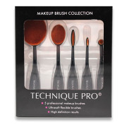 Technique PRO® Meikkiharjasetti (Oval Brushes) - 5 osaa