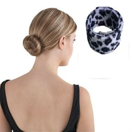 Hair Agami Single -  vaalea leopardikuvio, 1kpl